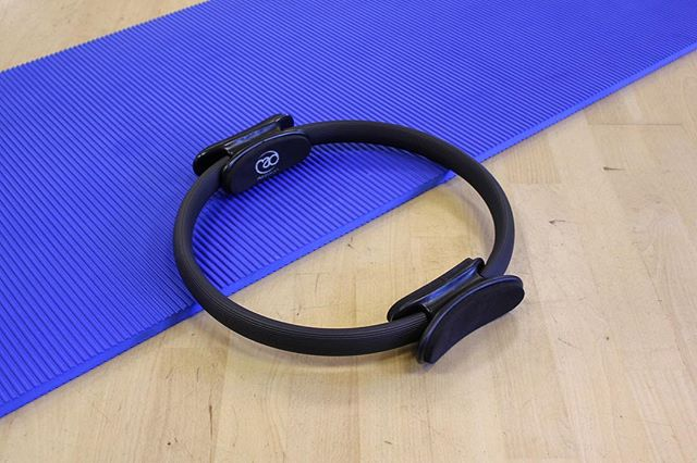 Pilates Ring - One if many pieces of equipment available at my Pilates classes.