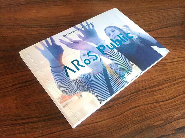 Congratulations to our friends at @arosartmuseum with the first anniversary of ARoS Public. New book is a beauty! / Tillykke til ARoS med et års-jubilæet på ARoS Public. Den nye bog er smækker! #arosart #arospublic #art #aarhus #nordeafonden @nordeafonden