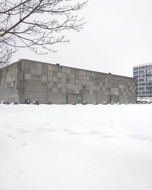 Snow! / Sne! #snow #sne #aarhus #brabrand #modernism #brutalism #sosbrutalism
