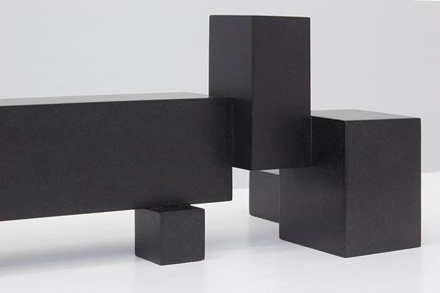Brutalism lovers! Check out Frode Steinicke's show at Galleri Jacob Bjørn. Opening today! #contemporyart #stone #sculpture #black #brutalism #modernism #aarhus @gallerijacobbjorn #gallerijacobbjorn