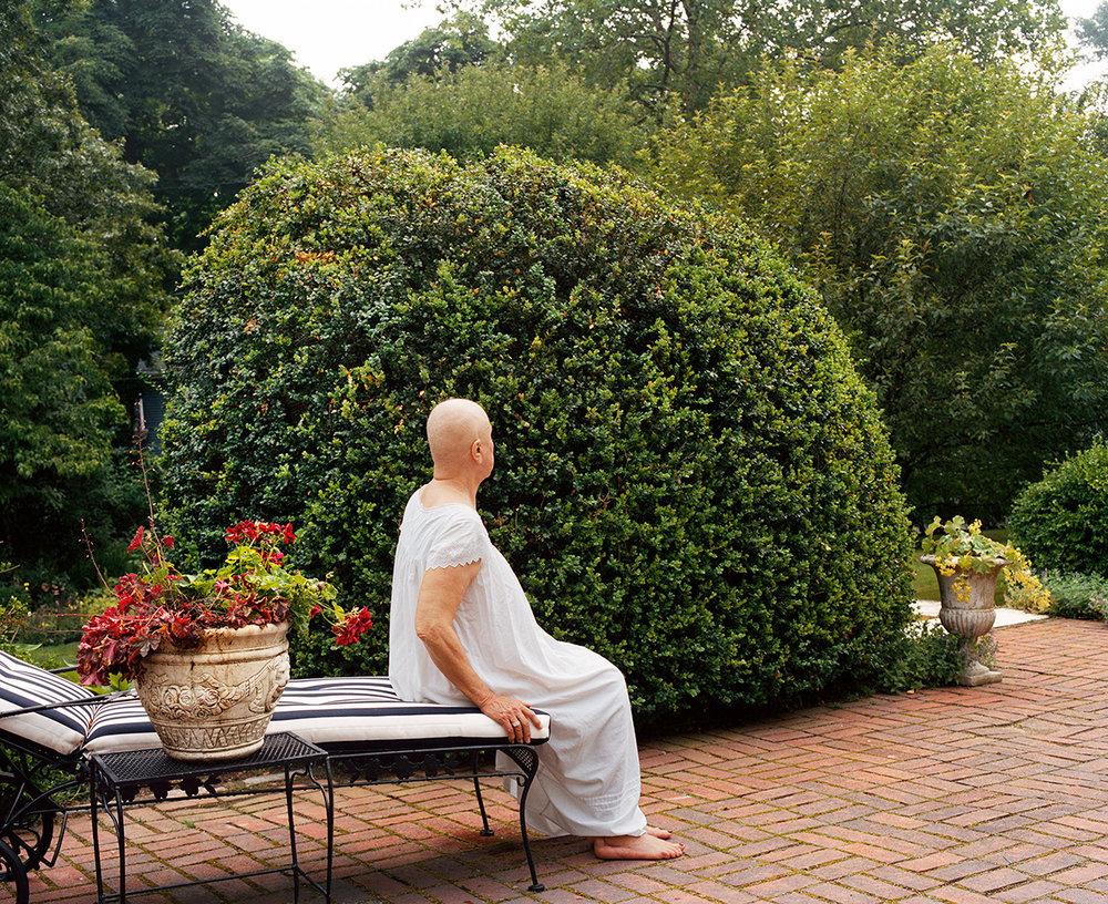 Gayle in Garden