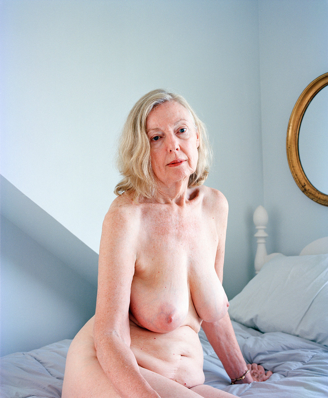 Jane in Blue Room
