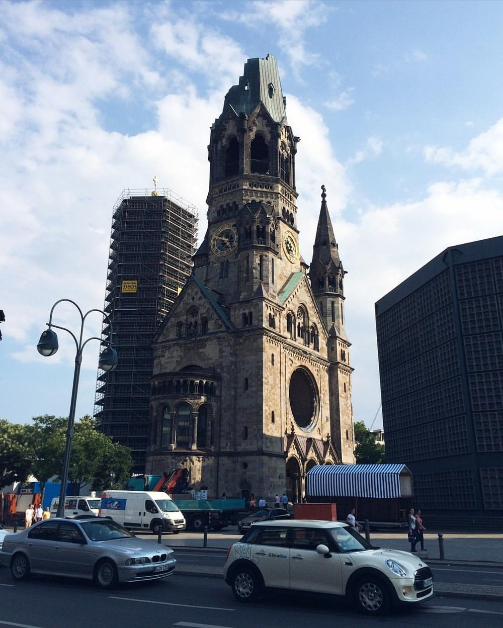 This bombed church was the first thing I saw when I first visited Berlin 15 years ago    (at Berlin, Germany)