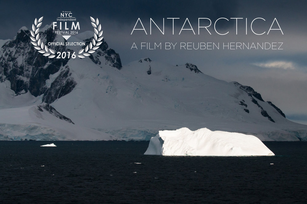 Join me next week for the world premiere of my film, ANTARCTICA, screening at the NYC Independent Film Festival on Wednesday, April 27th at 4:15 pm.  Trailer:   http://reubenhernandez.com/antarctica-trailer    Tickets and info:    https://www.nycindieff.com/session/art-experimental-films-sessions-1     I look forward to seeing you there!