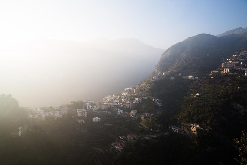 Jurassic Park  The roads are narrow and scary as hell but the views are worth it  (at Ravello, Amalfi Coast)