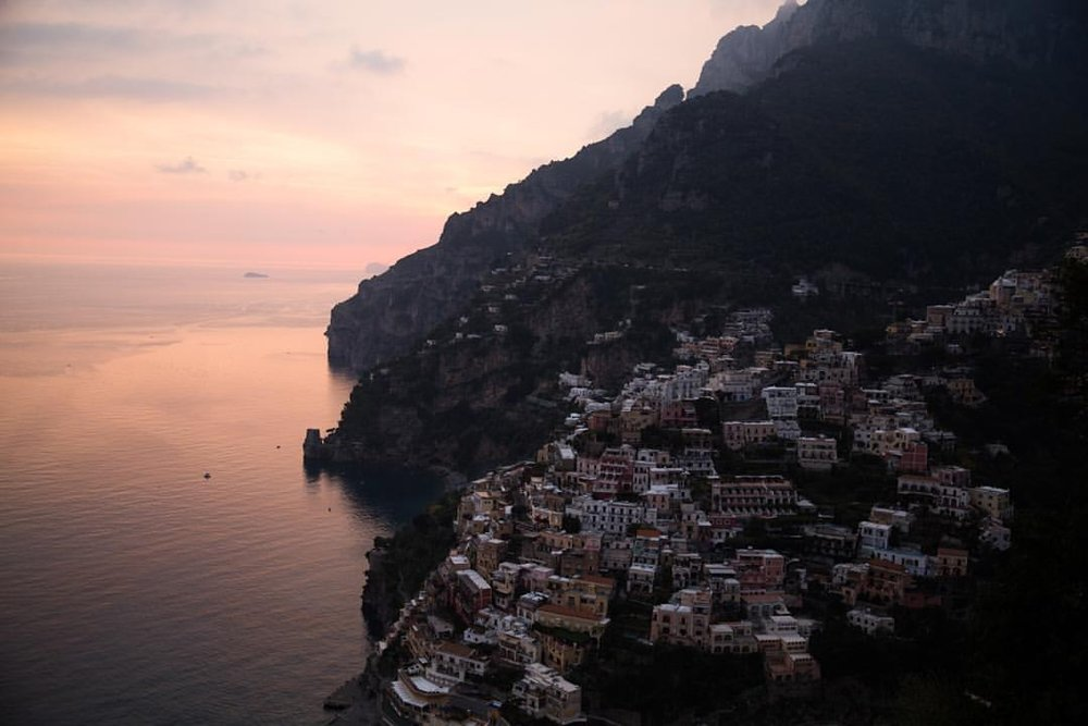 | 4:40 PM today |  It's no surprise why people are so mesmerized by this town  (at Amalfi Coast - Positano)