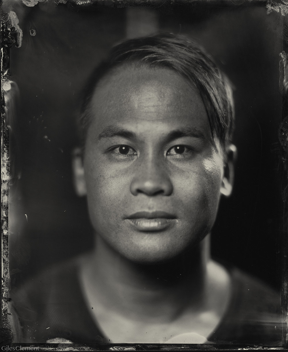 This weekend I received my first tintype portrait in the mail by photographer   @gilesclement  , and it was really special to open the box and hold it in my hand for the first time. I know this sounds cheesy, but I'm pretty sure I held my breath as I was opening the box just like a kid opening up a Christmas present. It made me realize how spoiled we've become in the digital age, and how we expect and demand things instantaneously all the time.      Tintype predates film and was widely used in the 1860's and 1870's, so it is quite a unique experience if you ever get the opportunity to have one taken of you. It is by far the most memorable photo that I've ever had taken of me, especially since I spend most of the time on the other side of the camera these days.      I'm obsessed with handmade crafts, and inspired by people like Giles that are able to make a living doing what they love, creating handcrafted goods that help create deep and meaningful experiences for us. I hope to give this portrait away as a gift one day and have it passed down from generation to generation.