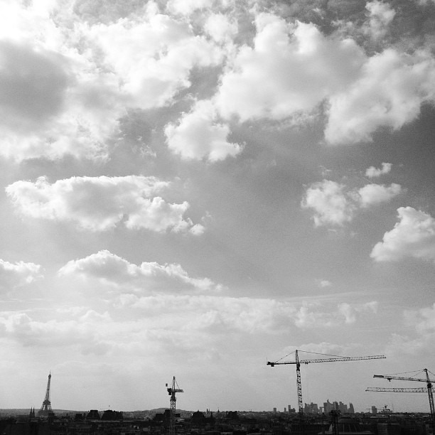#paris, #cityoflight (at Centre Pompidou - Musée National d'Art Moderne)