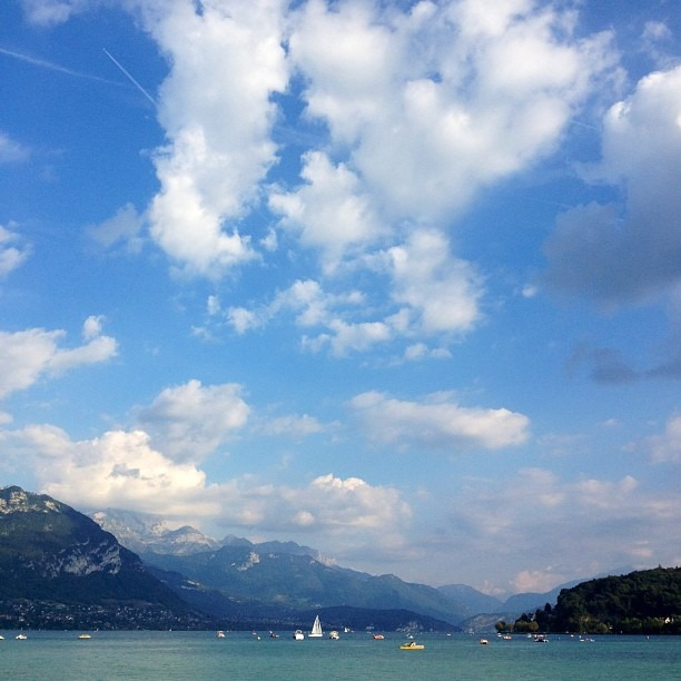 #alps (at Annecy)