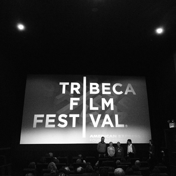 #cutieandtheboxer is one of my favorite films of the year. Not a typical love story, but so damn beautiful @tribeca #tff2013 #tff #tribecafilmfestival (at Tribeca Film Fest @ Clearview Cinema)