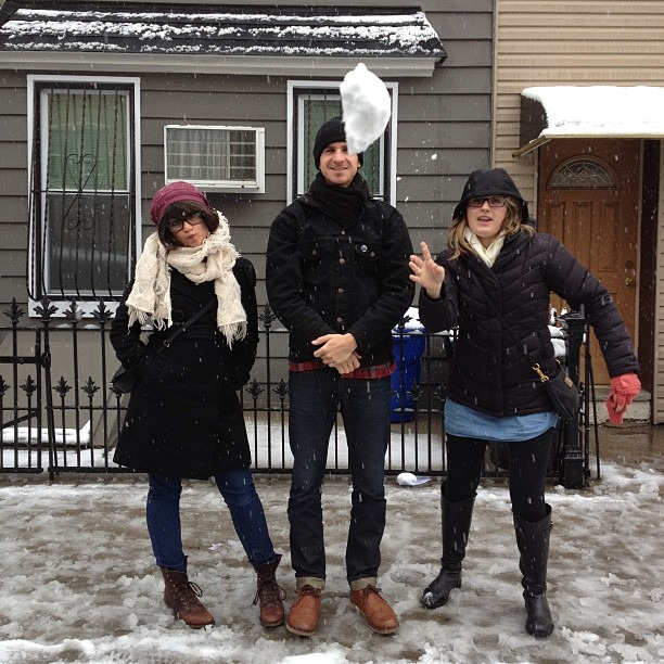Snowball! (at Williamsburg)