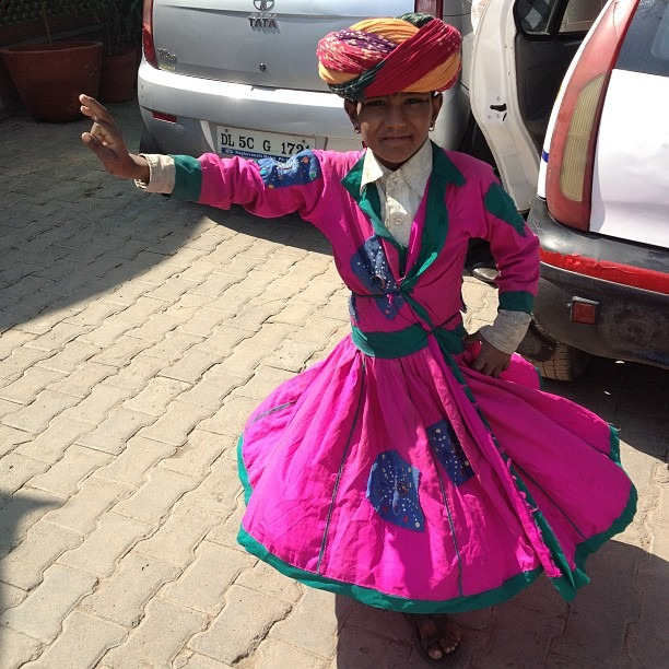 Tiny dancer #india