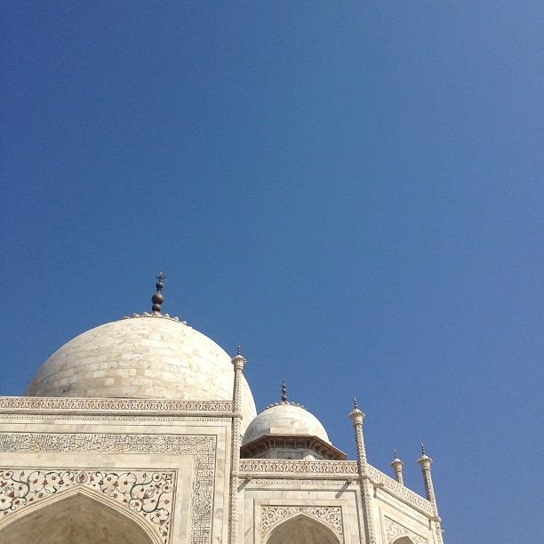The Taj #tajmahal #india #agra