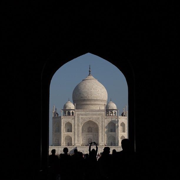 First sight (at Taj Mahal, Agra)