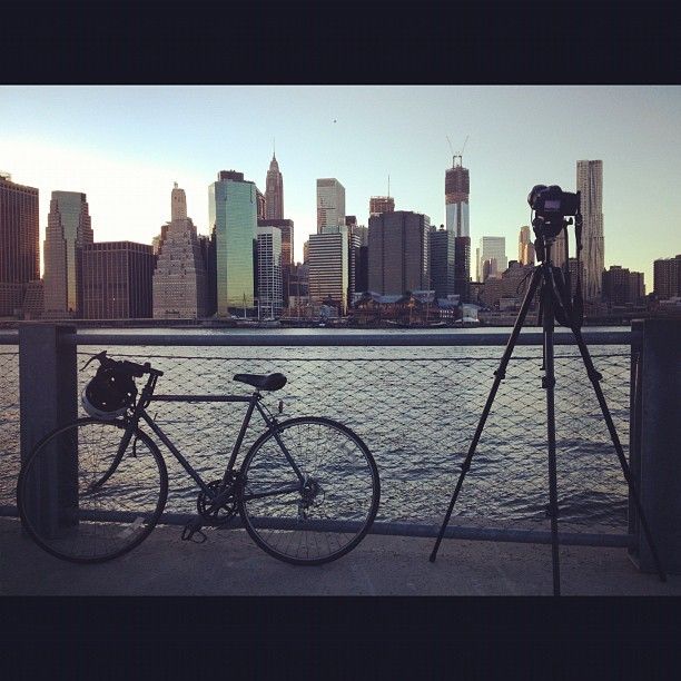 Getting my time lapse on (Taken with  Instagram  at Brooklyn Bridge Park - Pier 1)