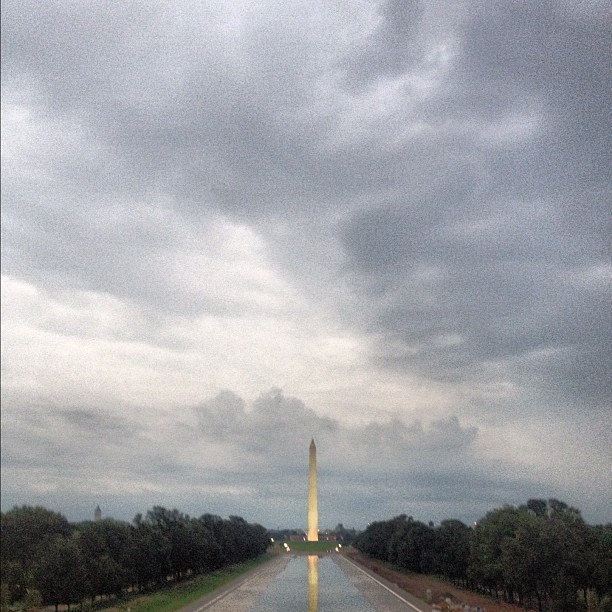 Washington Monument, the world's tallest stone structure and the world's tallest obelisk. (Taken with Instagram at Washington Monument)