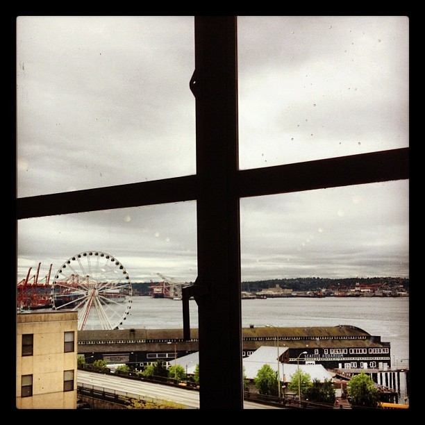 Rainy Pike Place Market. Seattle, WA (Taken with  Instagram  at Piroshky Piroshky)