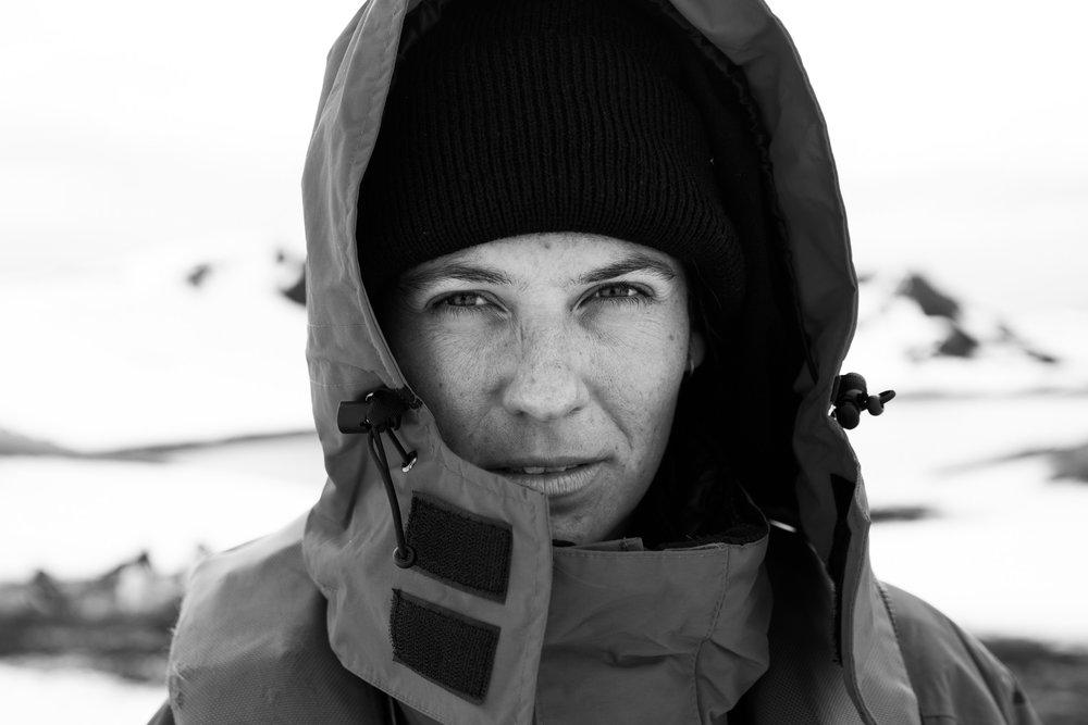 Carla, filmmaker     Antarctica 2015     #makeportraits #antarcticaordie