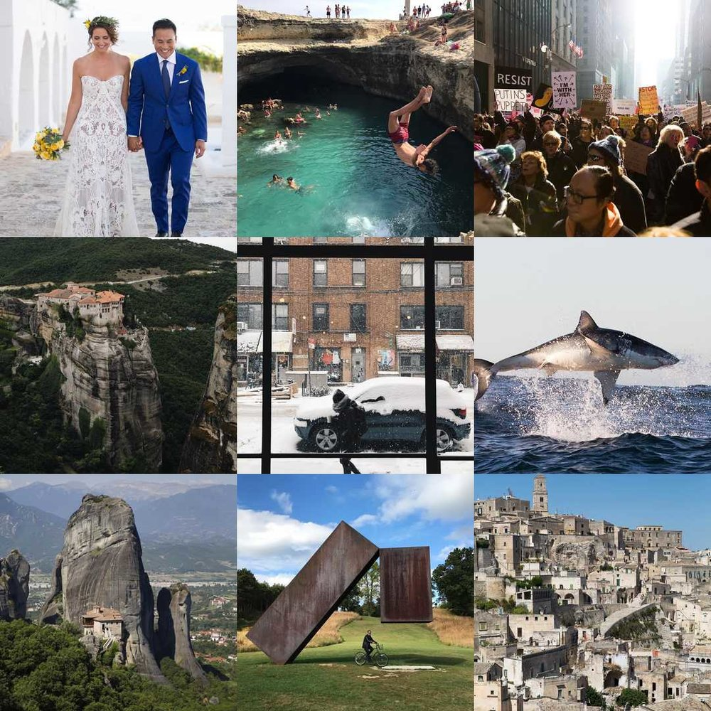 2017 Best Nine Instagram posts / photos