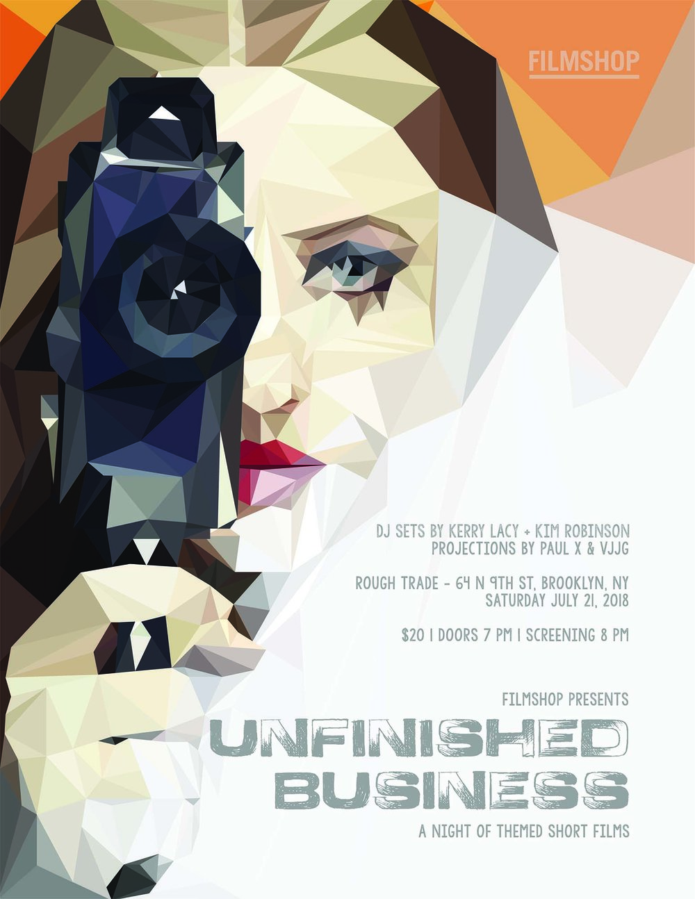 Filmshop presents Unfinished Business, Filmshop, Unfinished Business, filmmaking, filmmaker, film, films, filmmaker life