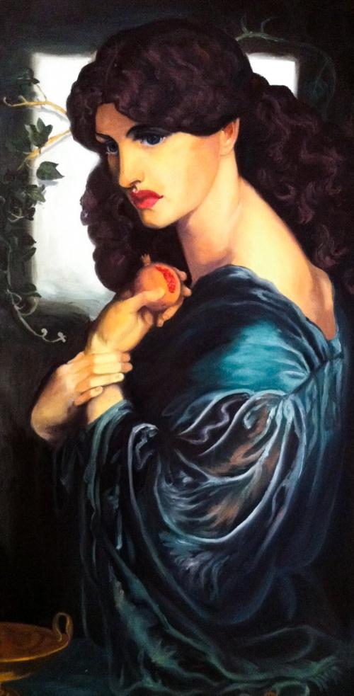 Proserpine - Dante Gabriel Rossetti