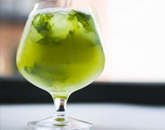 Mint Lime-aid by Epicurious