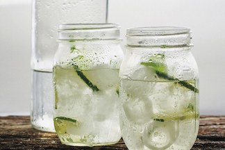 Coconut Water and Lime Rickey by Epicurious
