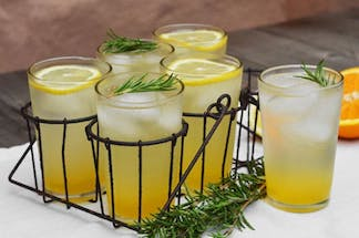 Rosemary Citrus Spritzer by The Kitchn