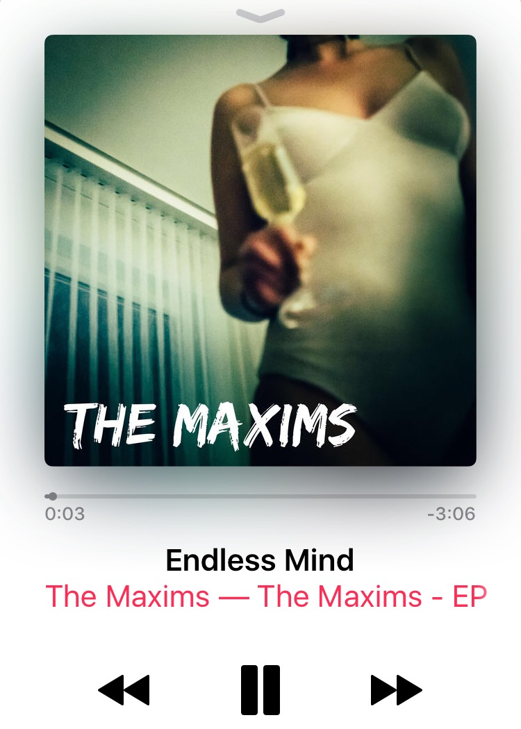 album cover art for boston band the maxims on apple music