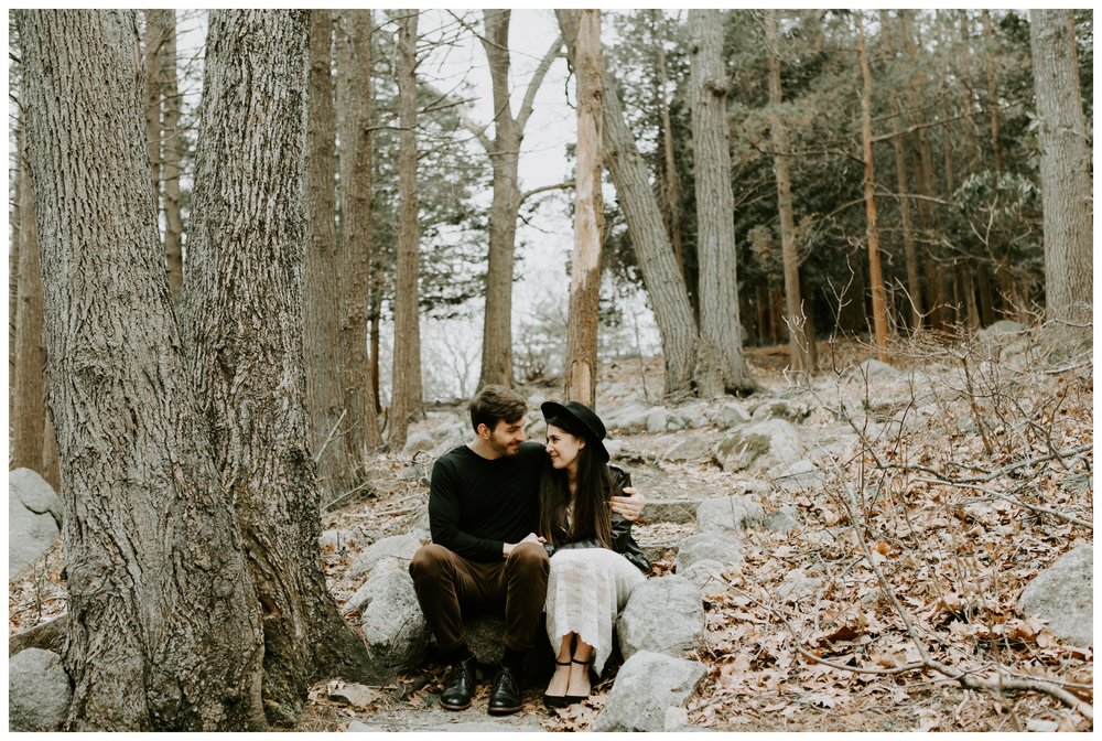 intimate forest engagement
