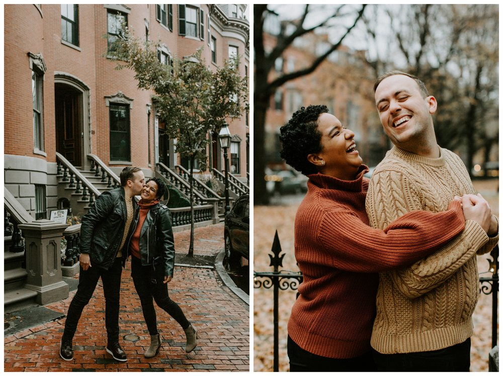 south end boston engagement