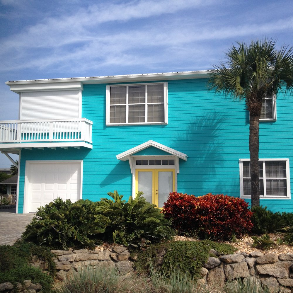 Beachside Bold Exterior Paint Colors