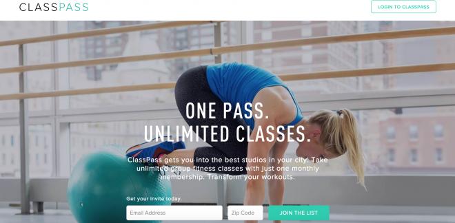 ClassPass UX Design