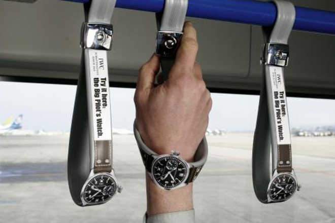 IWC guerilla marketing campaign