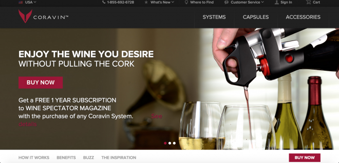 Stealth Mode Startup: Coravin