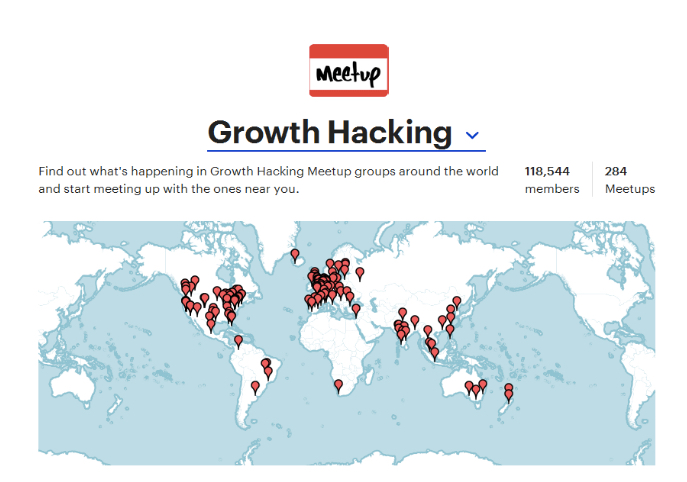 Growth hacking meetup