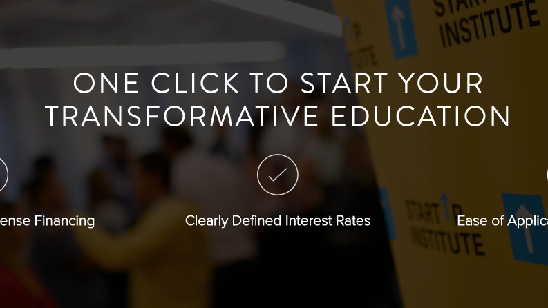 Startup institute's skills fund portal - View Options