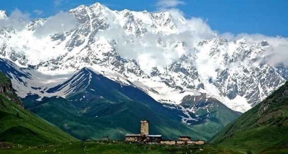 Svaneti,  Caucasus  Mountain Region, Georgia