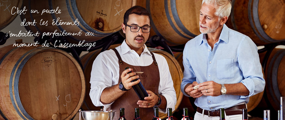 Blend your own wine with expert Bordeaux winemakers