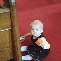 Baby in Church