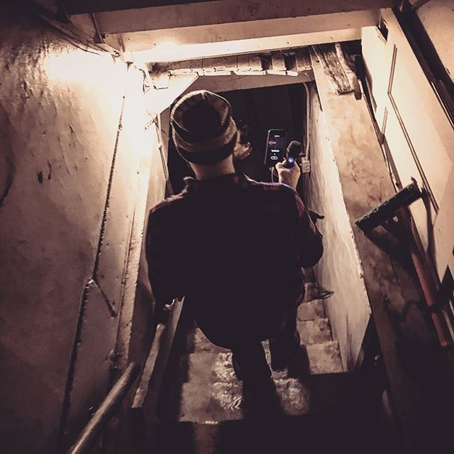 Ryan heads down to the basement of Chet's to search for Ben, the spirit who lives downstairs. New episode about Resurrection Mary and Chet's Melody Lounge coming soon!  #ghost #hauntedchicago #chicago #haunted #podcast