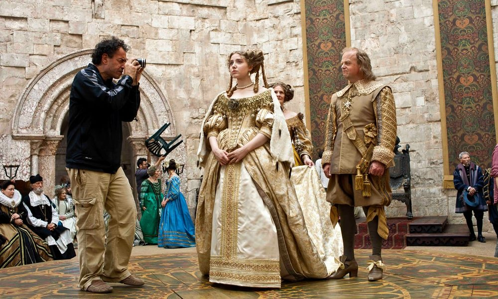Matteo Garrone on the set of  Tale of Tales  (2015).