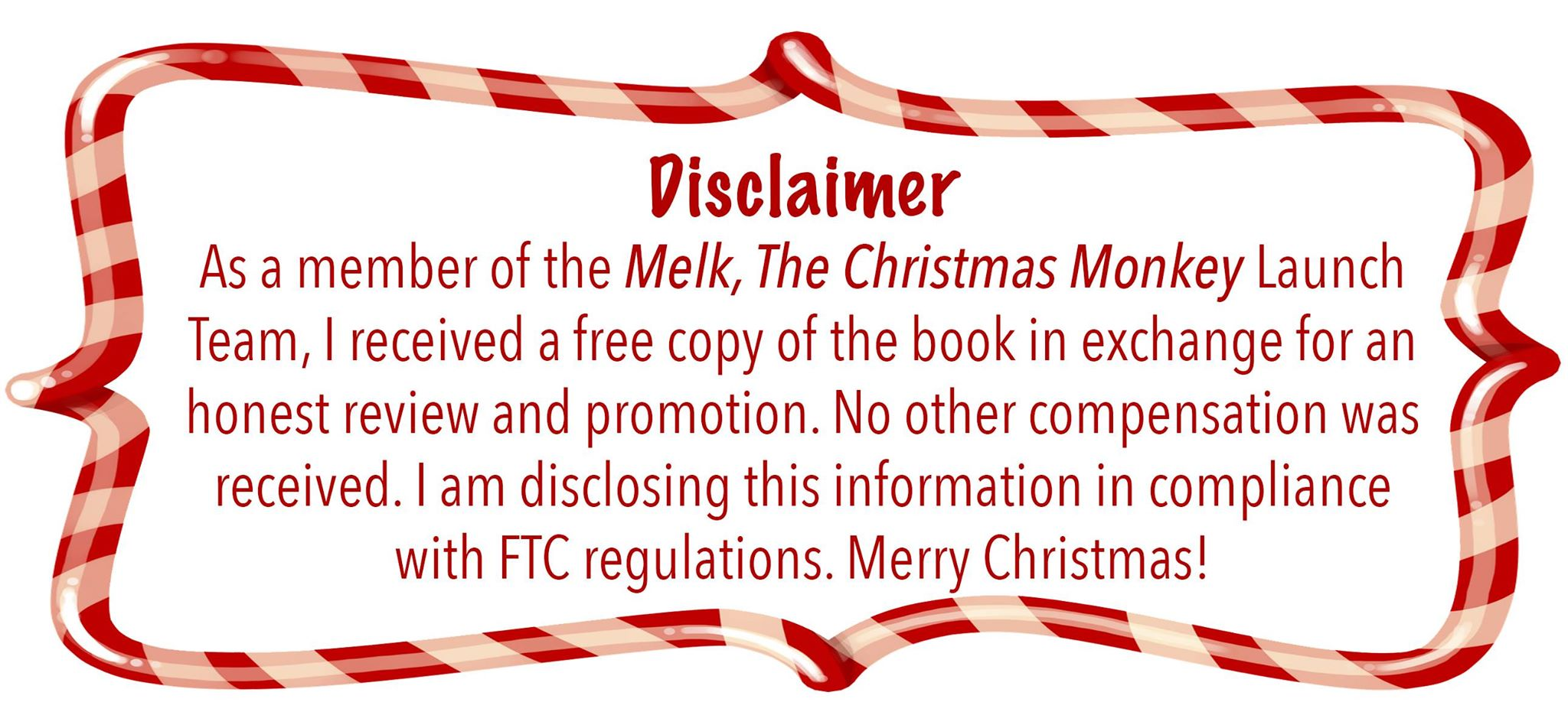Melk Disclaimer