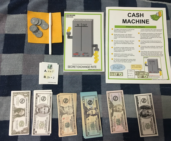 Mango Math-Cash Machine