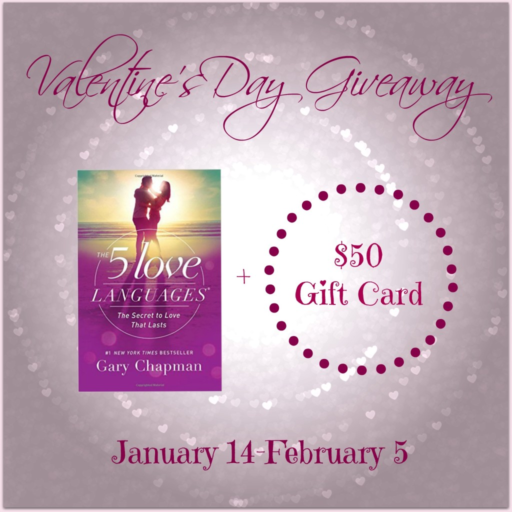 Valentine's Day Giveaway 1/14 to 2/5