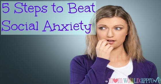 social anxiety shyness