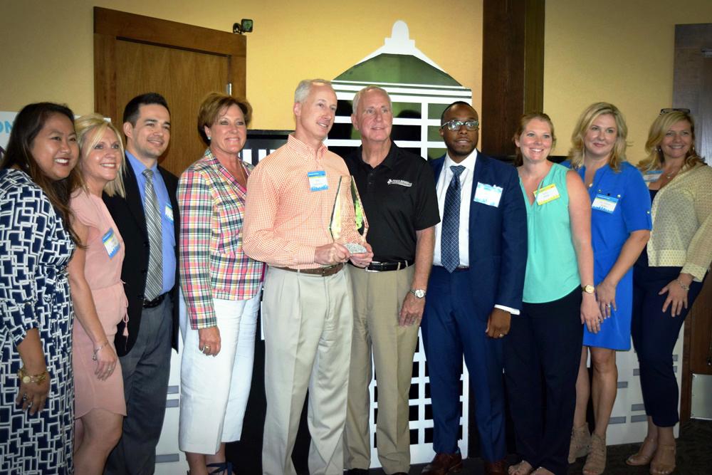 WWCL Board with Scott Davenport presenting Matt Schwartz award.