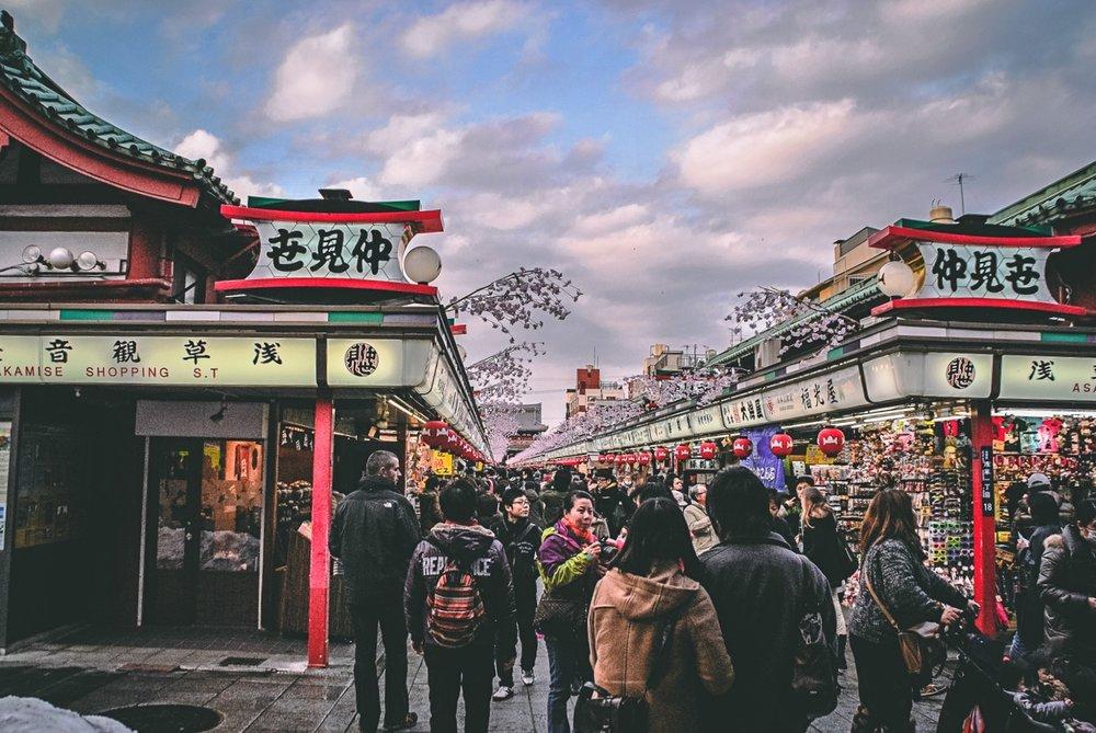 Visiter tokyo une semaine guide par jour par quartier asakusa marche senso ji souvenirs japon asie blog voyage photographie