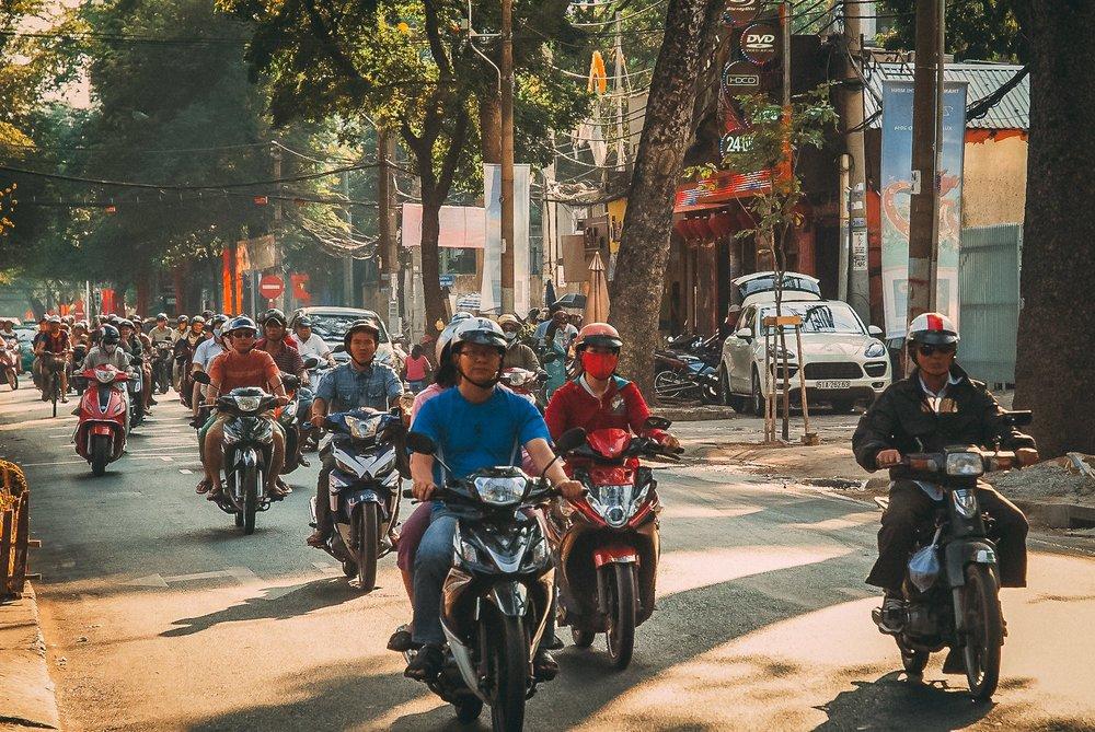 visiter ho chi minh saigon scooter vietnam asie blog voyage vietnam