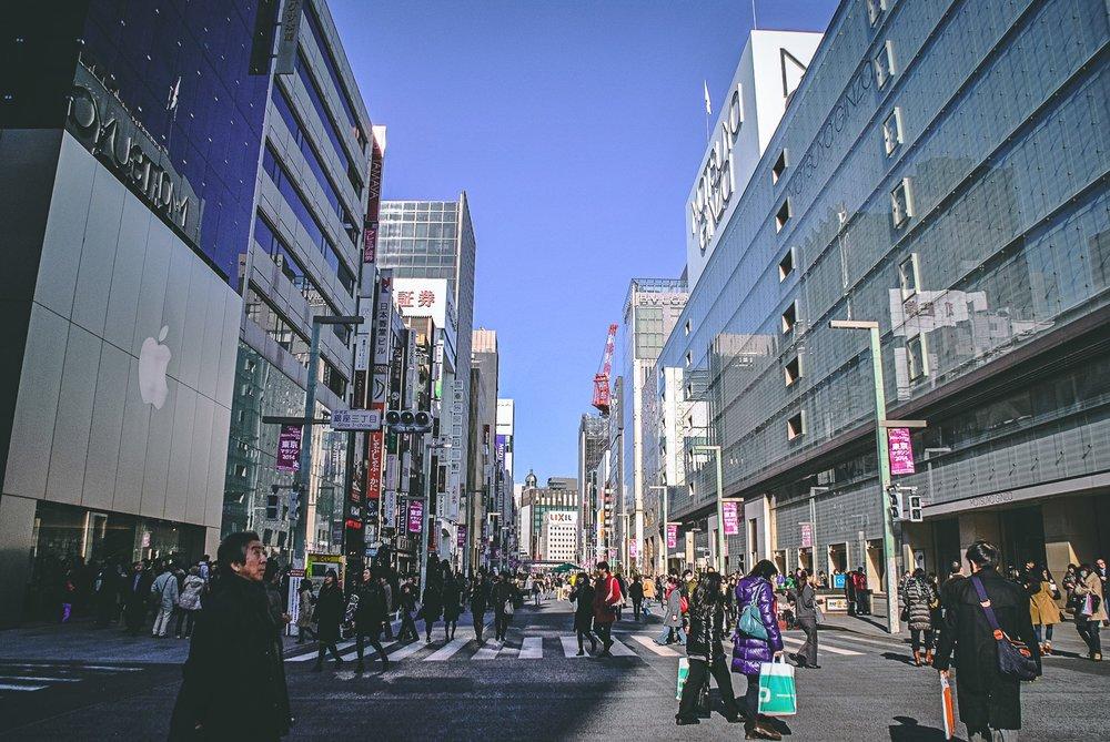 Visiter tokyo une semaine guide par jour par quartier ginza japon asie blog voyage photographie